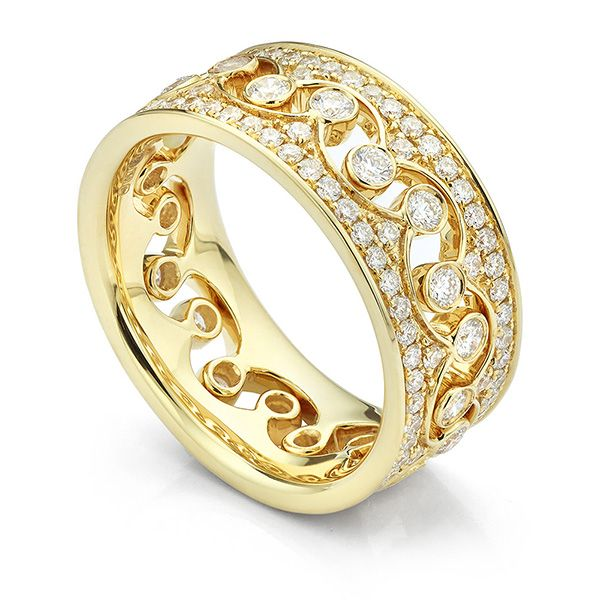 Elizabeth Fusion Stacking Diamond Rings Main Image