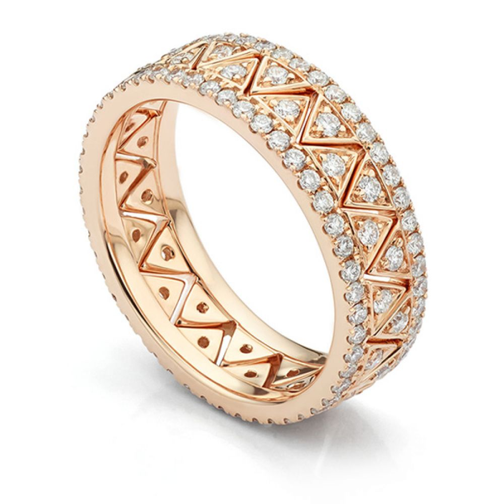 Alexandria Fusion Diamond Stacking Rings