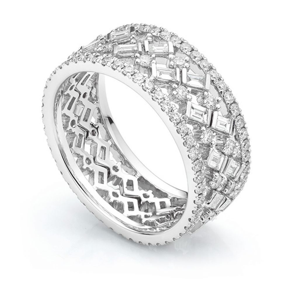Cleopatra Fusion Diamond Ring Set