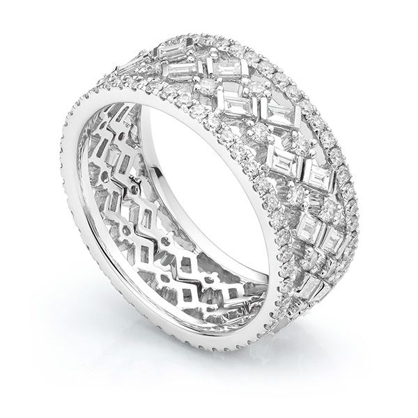 Fusion Diamond Ring Set  Main Image