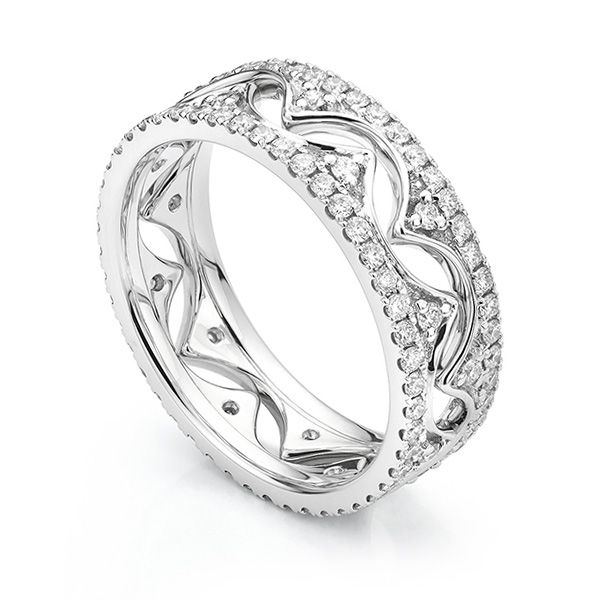 Diamond Fusion Diamond Ring Set Main Image