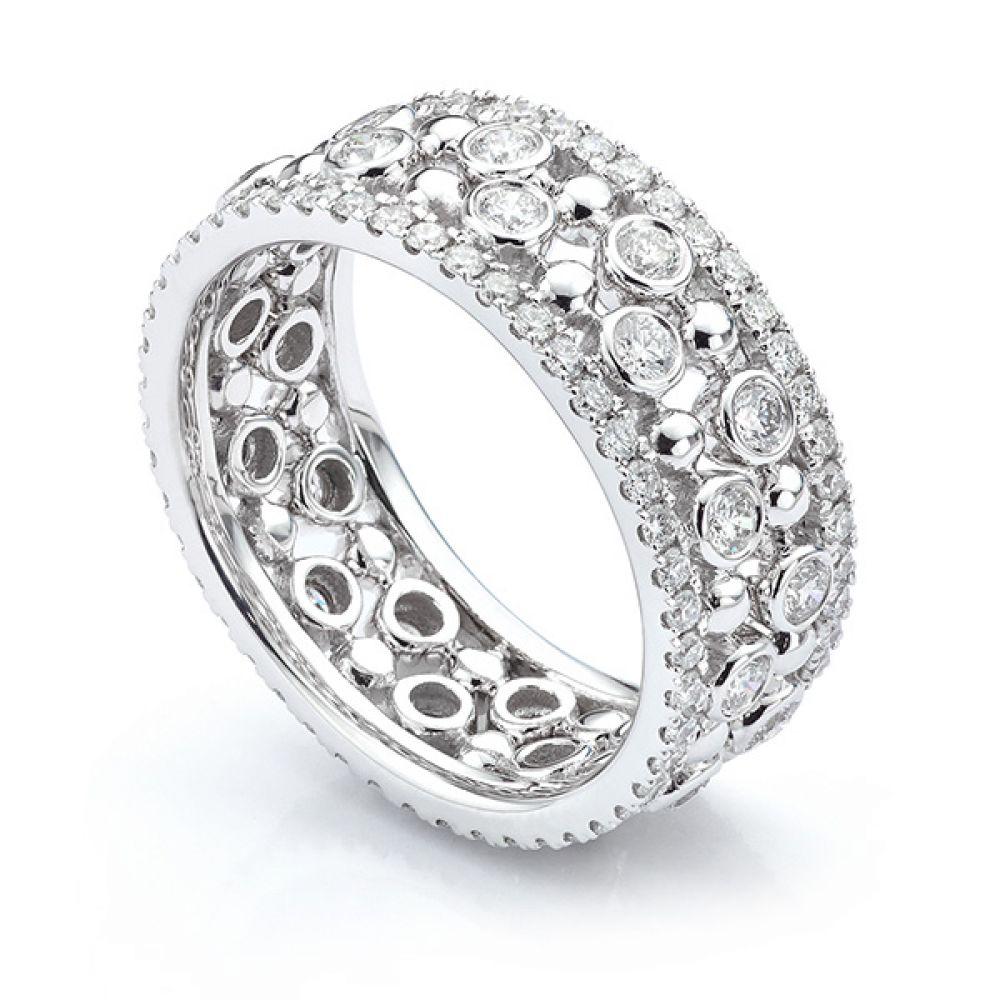Fusion Diamond Stacking Rings Anastasia