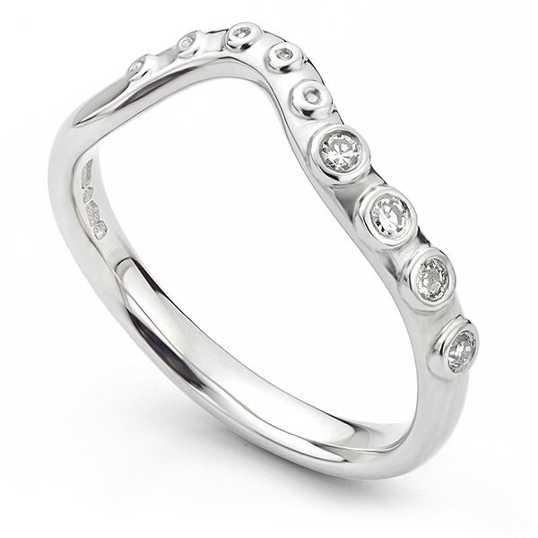 Diamond Octopus Wedding Ring Main Image
