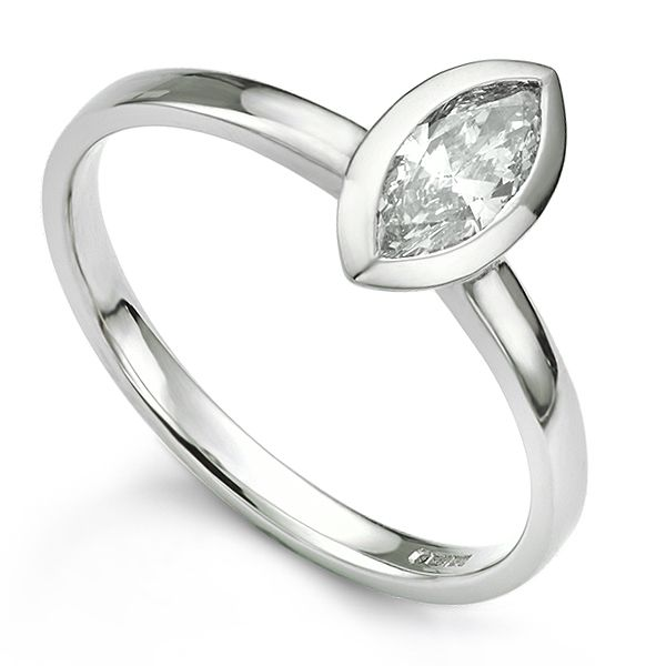 Bespoke Marquise Engagement Ring  Main Image