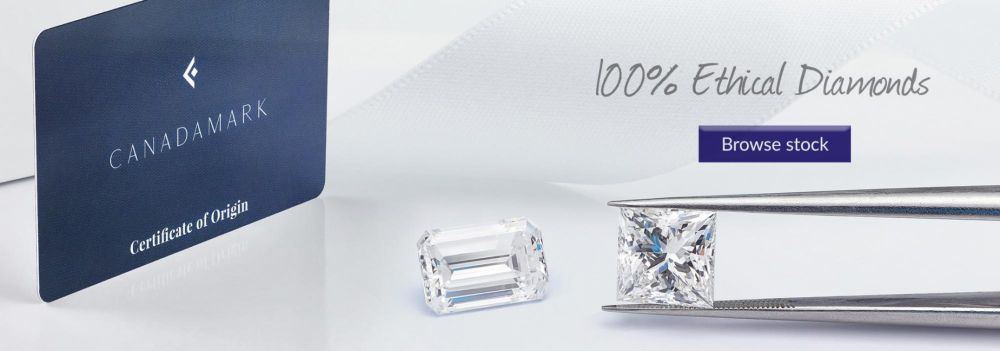 100% Ethical Diamonds - Browse CanadaMark Diamonds