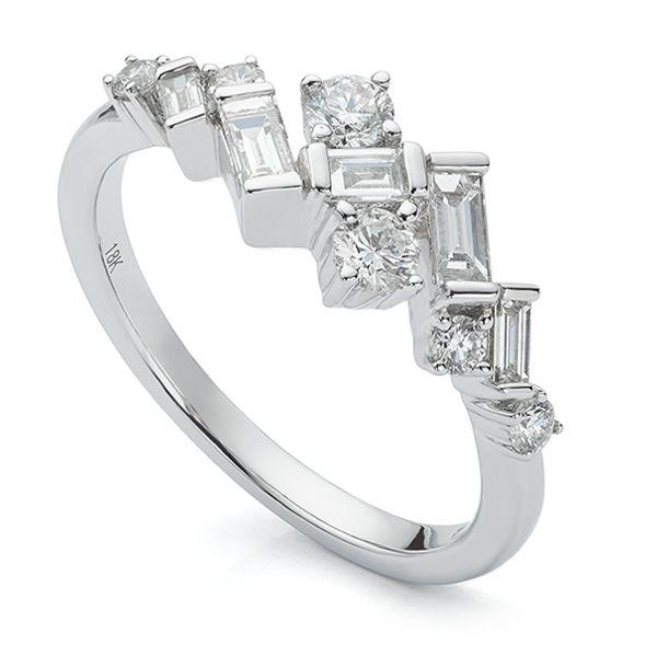 Art Deco Baguette Diamond Ring Main Image