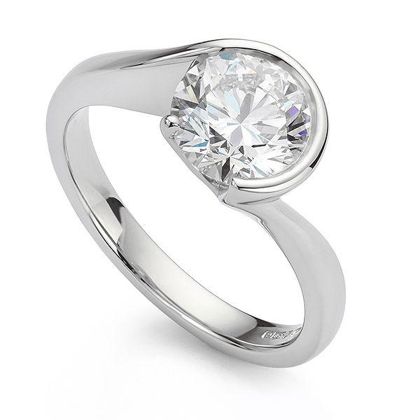 Lab-Grown Diamond Engagement Ring Main Image