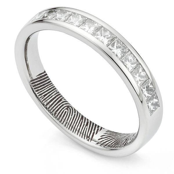 Fingerprint Eternity Ring Main Image
