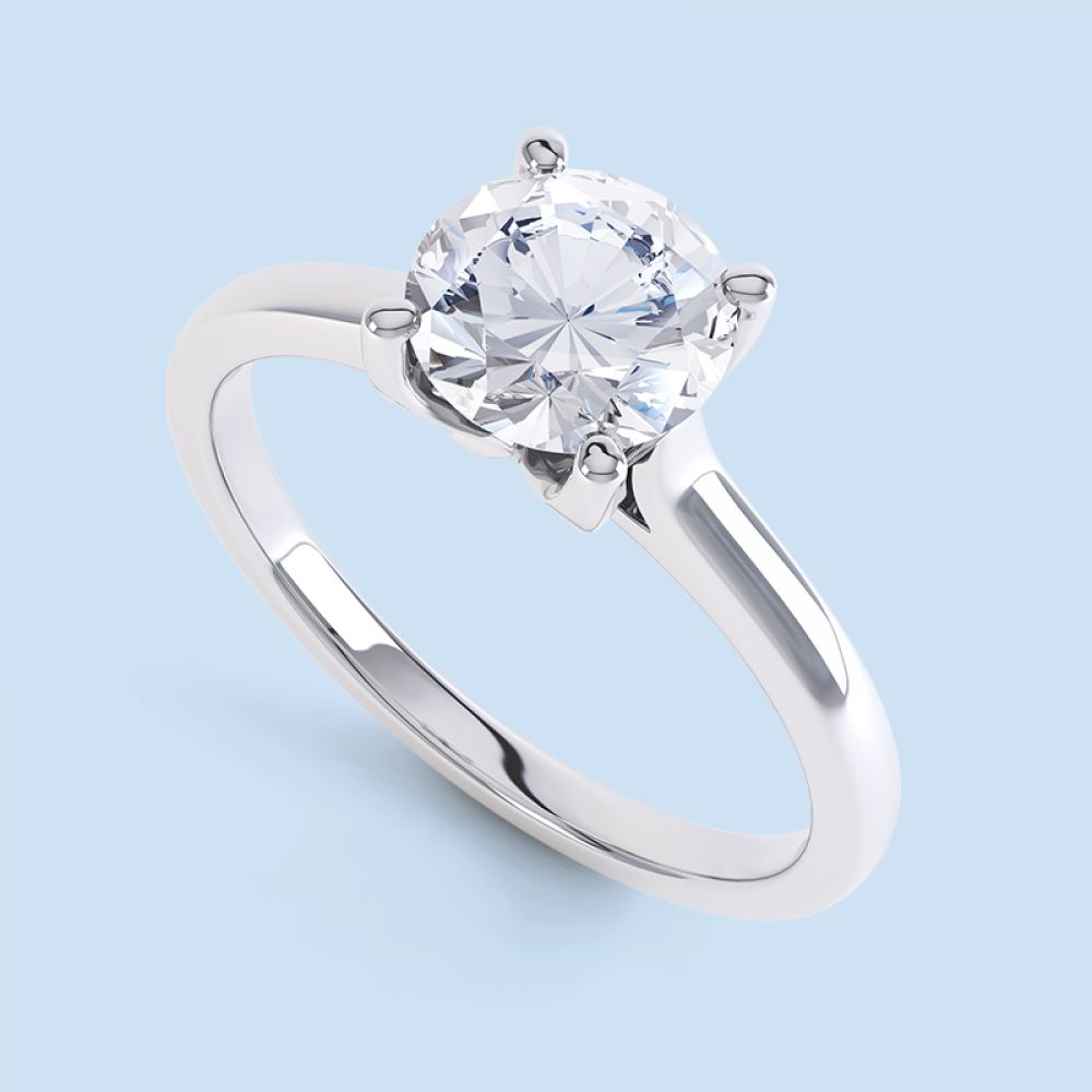 ring diamonds engagement diamong diamond single wedding claw jewellery six stone rings