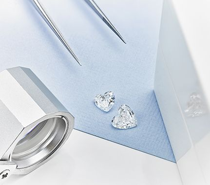 Heart shaped diamond solitaire engagement rings