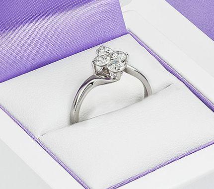 4 Stone Diamond Engagement Ring