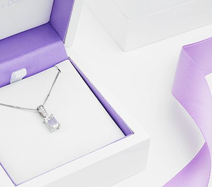 Fancy Shape Diamond Pendant - PH011