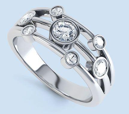 Seven stone diamond rings - seven stone diamond rings