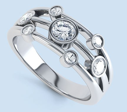 Seven stone diamond rings - seven stone diamond rings