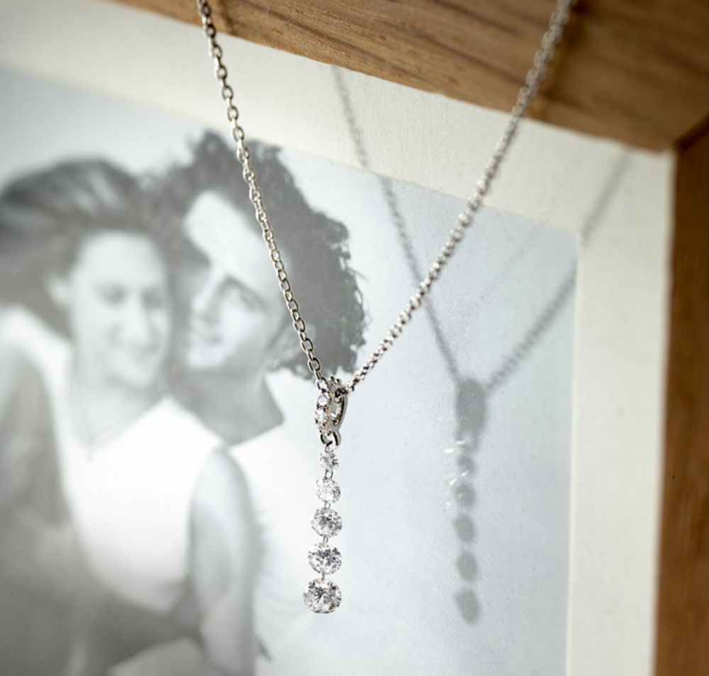 Diamond drop pendants - Chandelier
