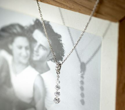 Diamond drop pendants - Chandelier