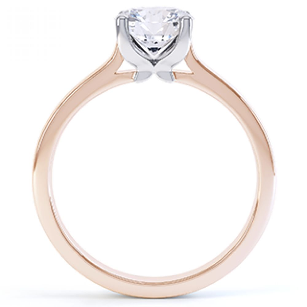 Beau - R1D020 solitaire engagement ring