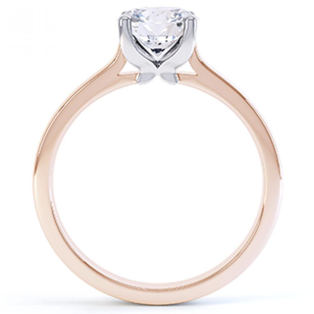 Beau - R1D020 solitaire engagement ring
