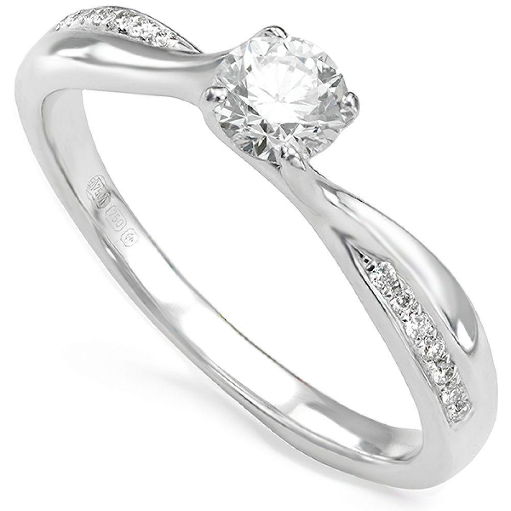 Juliana Twist Engagement Ring
