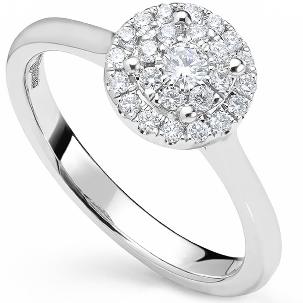 Starla consteallation diamond engagement ring