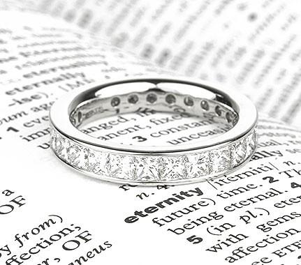 Dazzling 3 Carat Diamond Set Eternity Ring