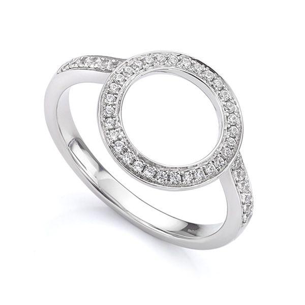 Diamond Halo Enhancer Wedding Ring Main Image