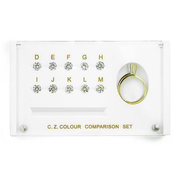 CZ Diamond Colour Grading Samples Main Image