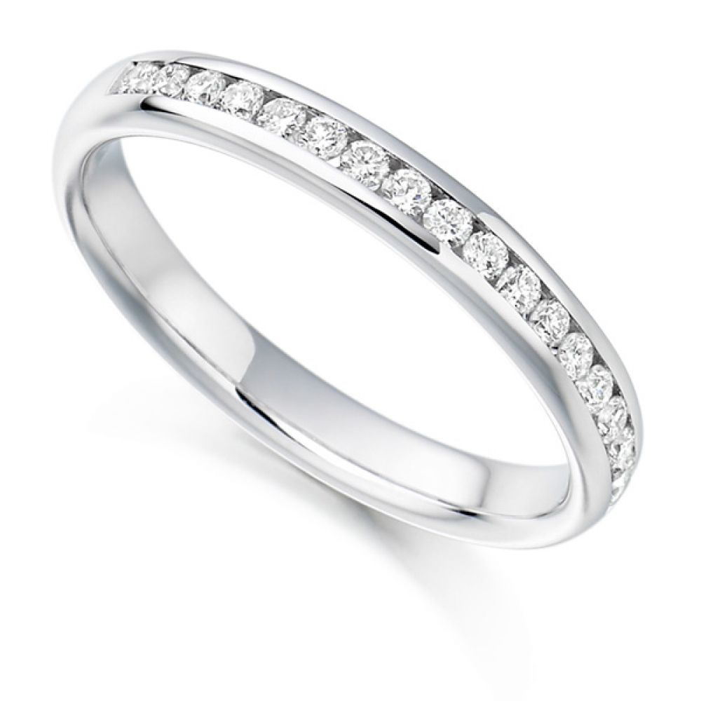 0.22ct Round Diamond Half Eternity