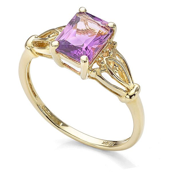 February Birthstone Ring Main Image
