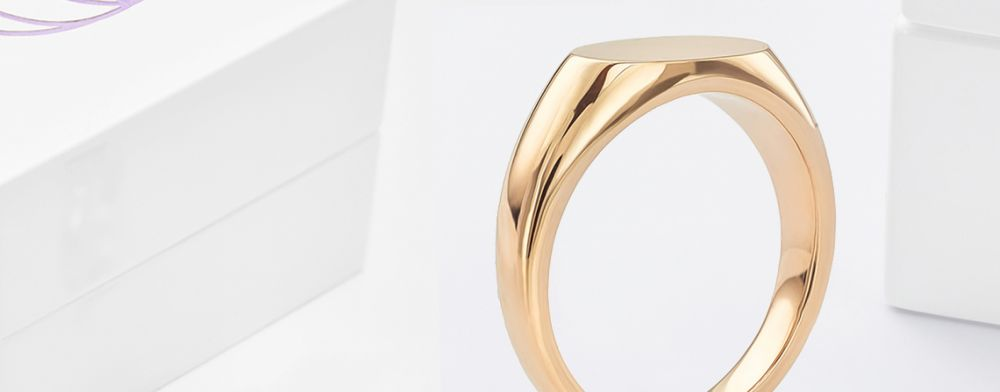 Signet Rings for Men and for Women