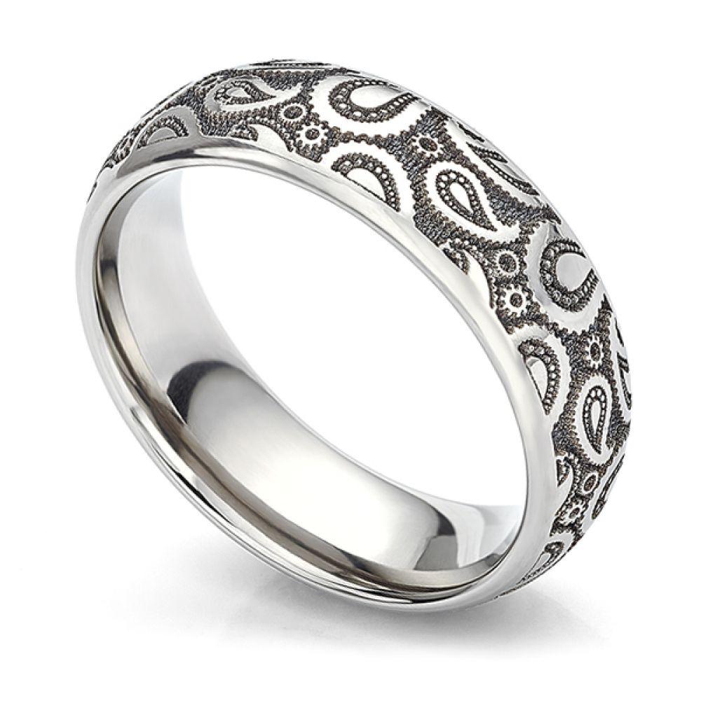 Paisley Wedding Ring