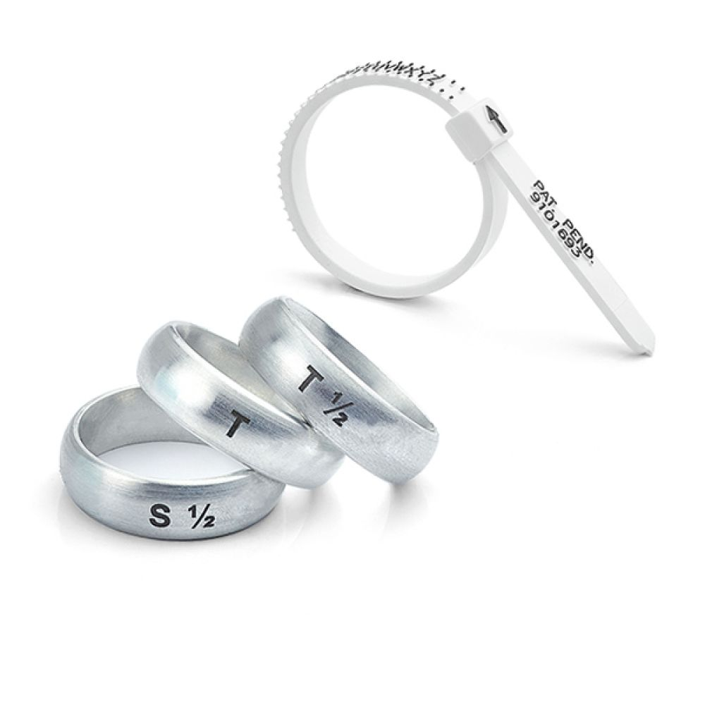 Mens wedding ring size set