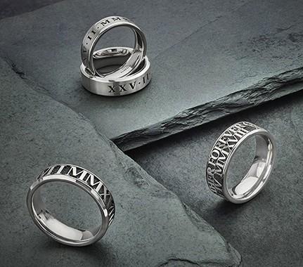 Mens Titanium wedding rings UK