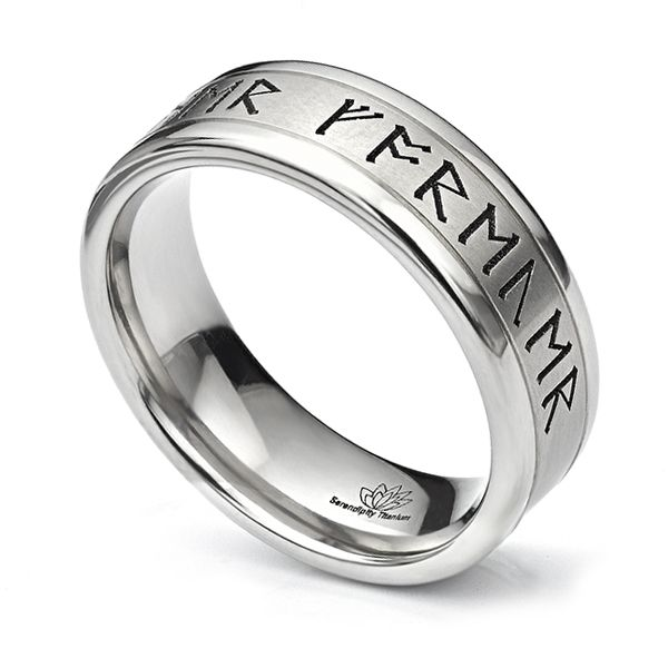Rune Wedding Ring Main Image