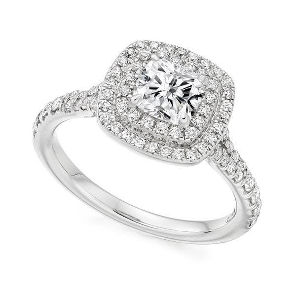 Cushion Cut Double Halo Main Image