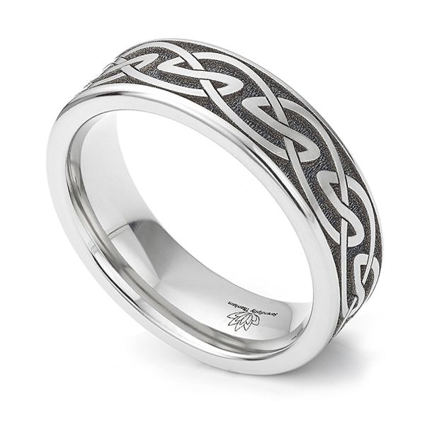 Celtic Knot Wedding Ring Main Image