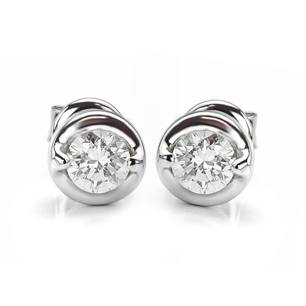 Rosabella Diamond Stud Earrings Main Image