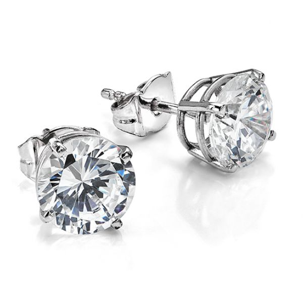 7mm Swarovski Crystal Earrings Main Image