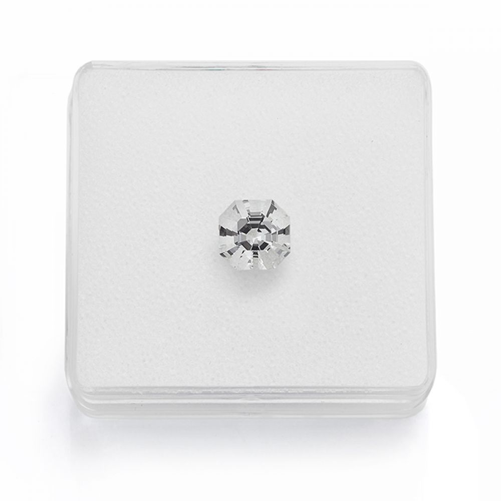 Octagonal White Topaz 2.67cts