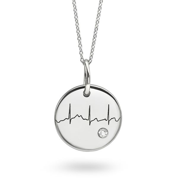 Actual Heartbeat Necklace Main Image