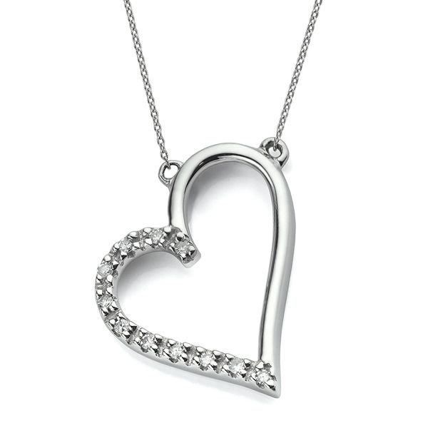 Diamond Heart Necklace  Main Image