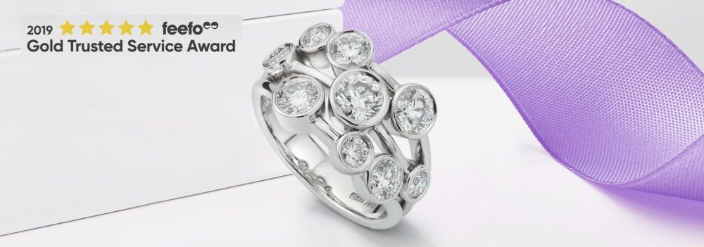Bowery 2 Carat Diamond Bubble Ring