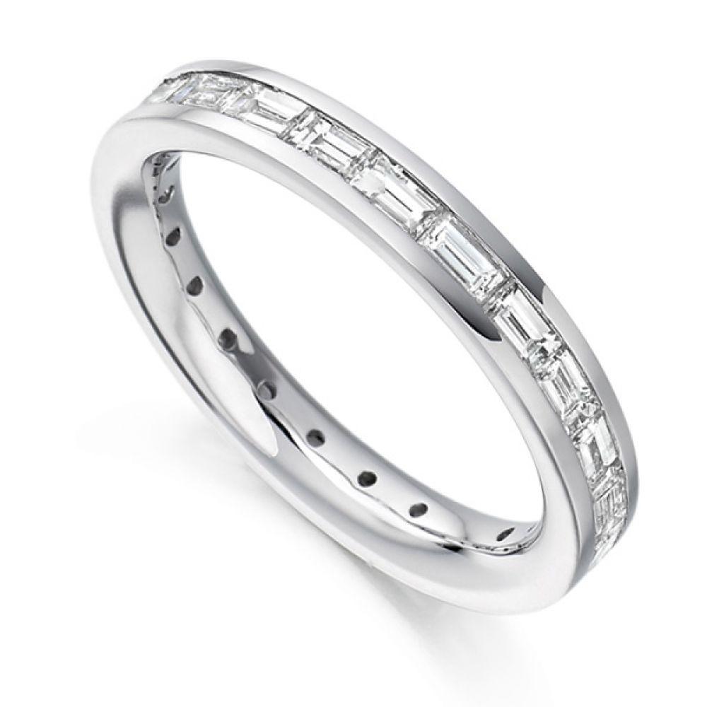 1 50cts Baguette Diamond Full Eternity Ring
