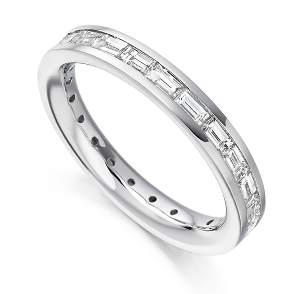 1.50cts Baguette Diamond Full Eternity Ring