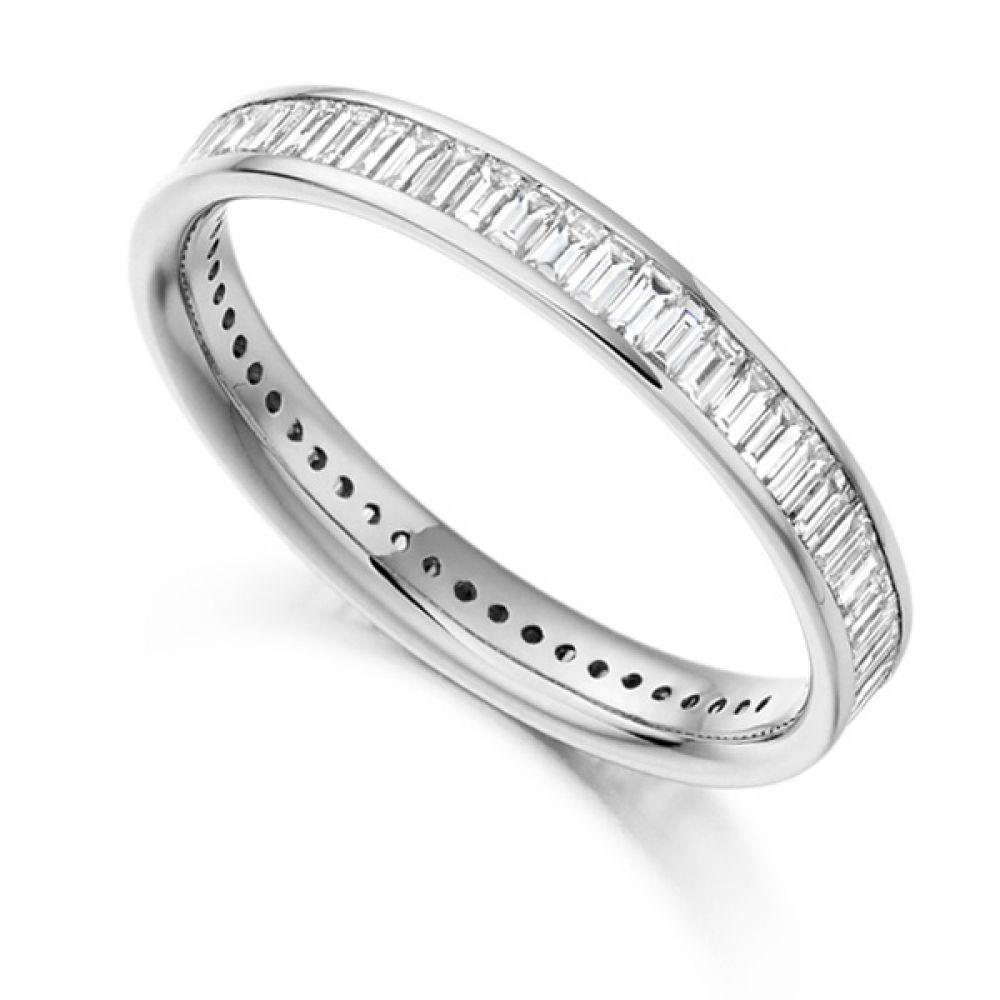 1 05cts Baguette Diamond Full Eternity Ring