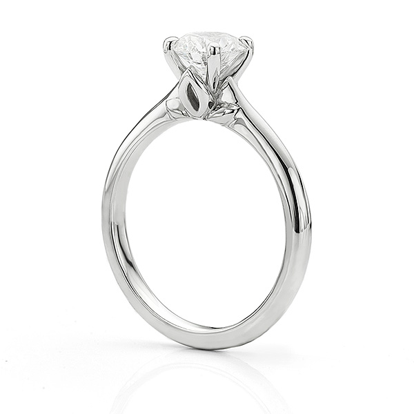 Serendipity Engagement Ring Side View