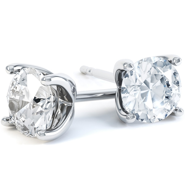 0.30cts 4 Claw Classic Diamond Earring Offers