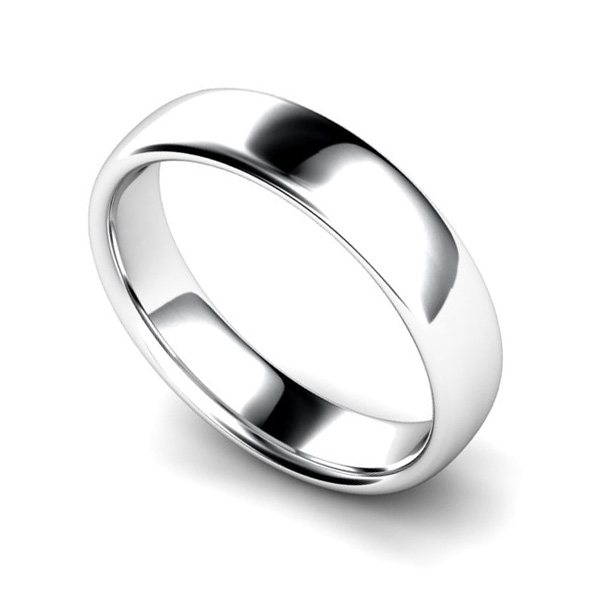 Medium Weight Court Wedding Ring