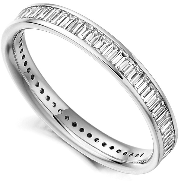 1.05cts Baguette Diamond Full Eternity Ring