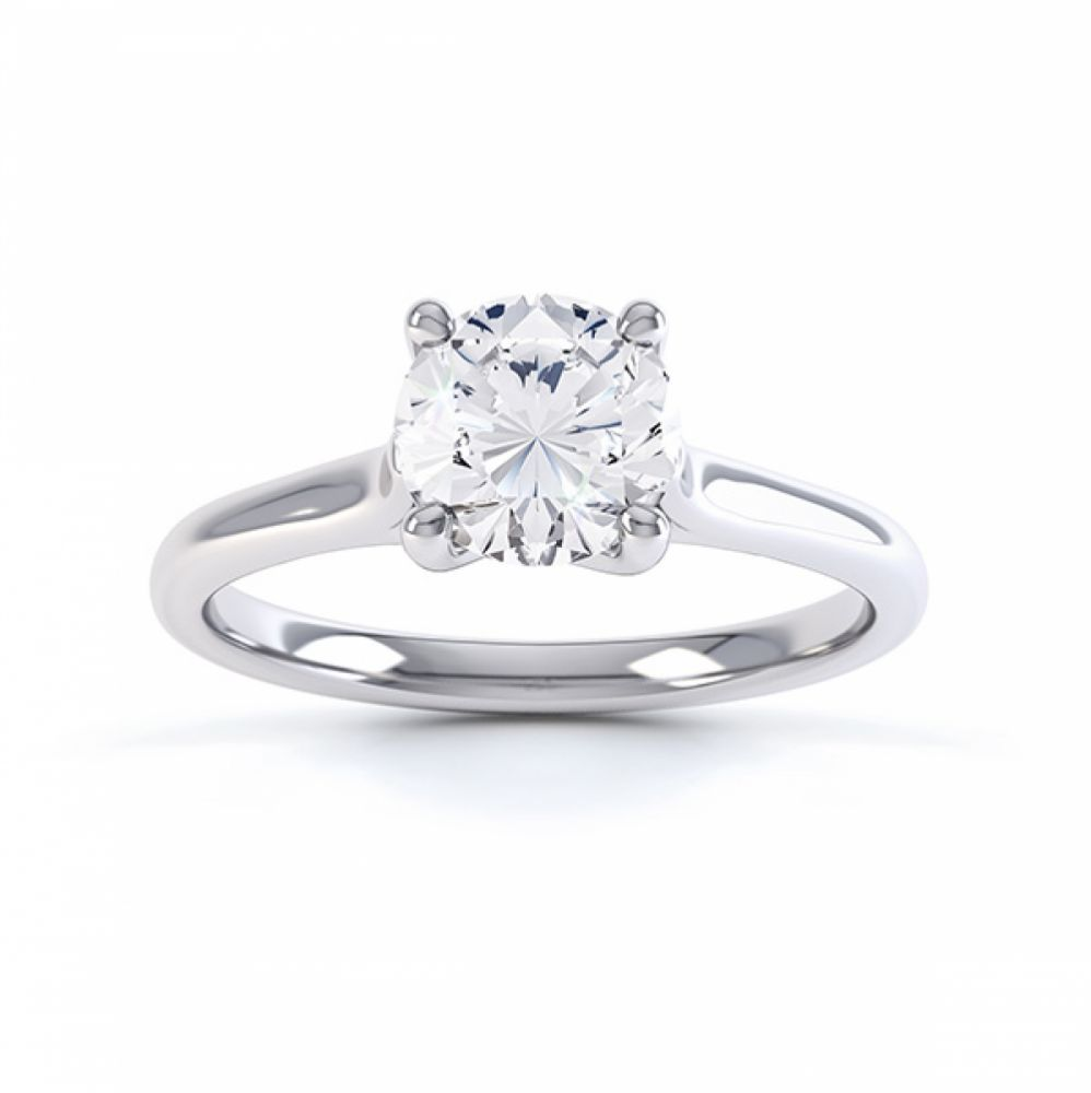 Sirius Round 4 Claw Solitaire Engagement Ring